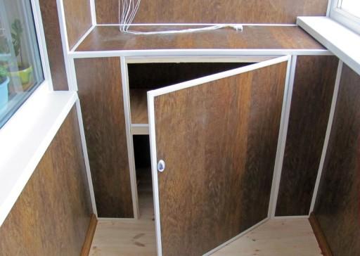 Пластмассовые шкафы для балкона