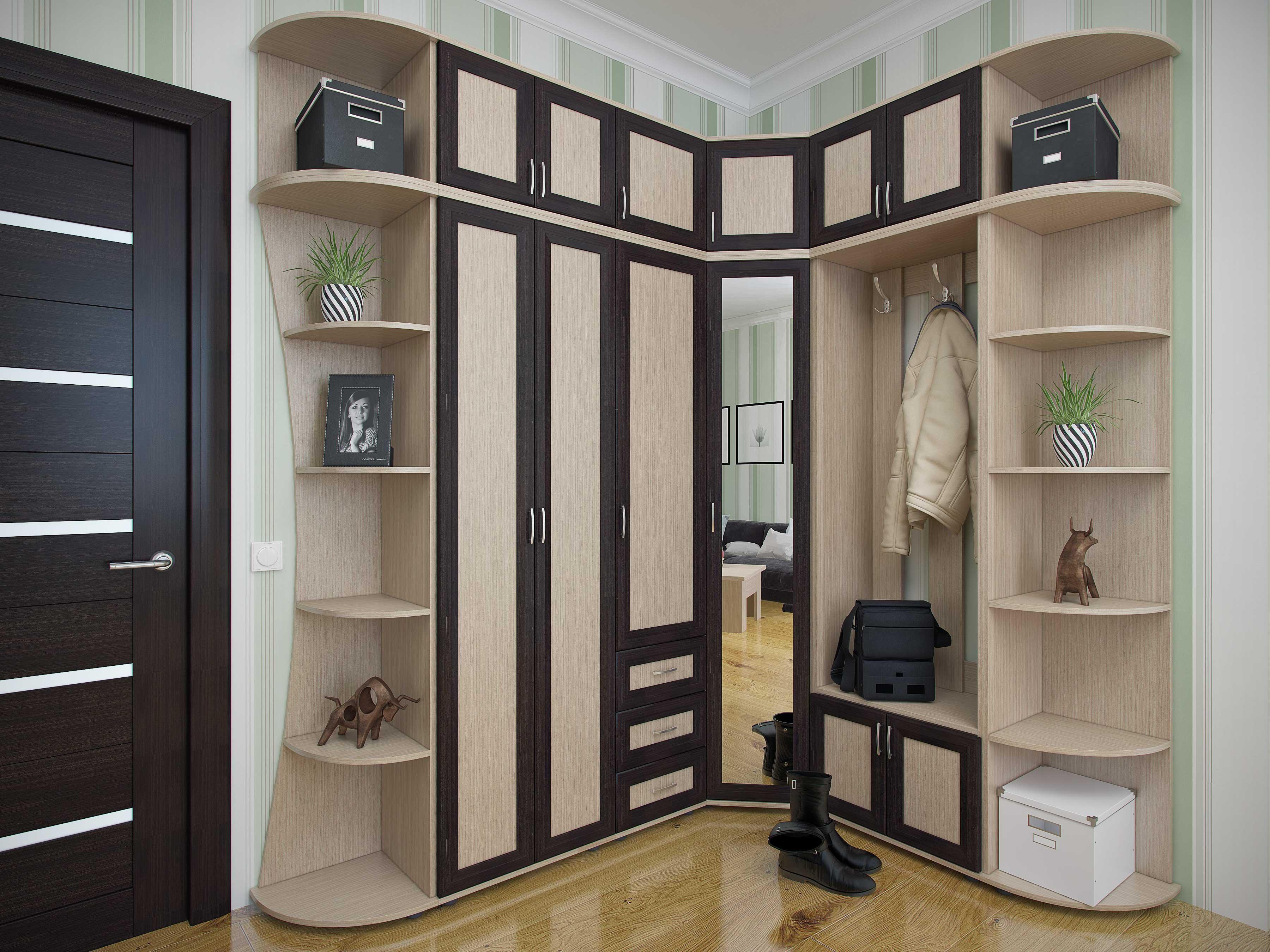 мебели фото дизайны прихожая