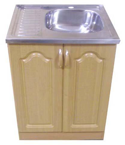 Пример готовой тумбы для кухонной мойки