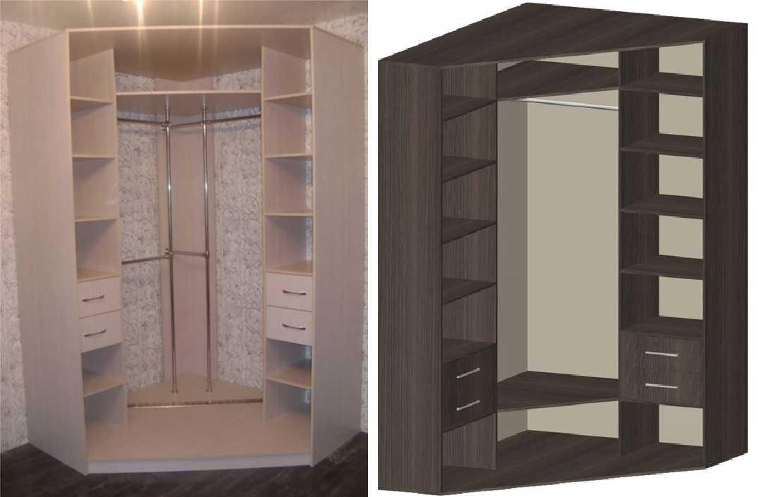 угловой шкаф купе в гостиную плюсы и минусы варианты оформления