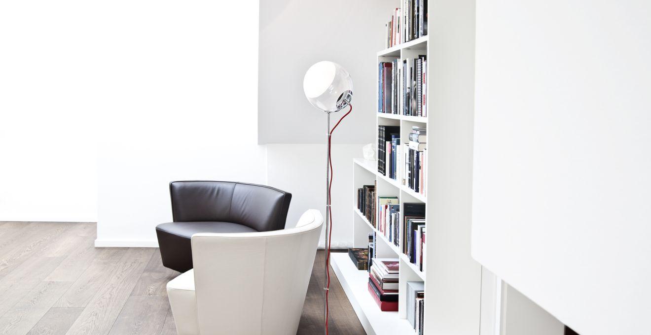Расположение книжного шкафа