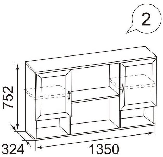 Размеры мебели для спальни