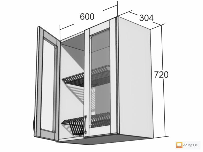 Размеры подвесного шкафчика
