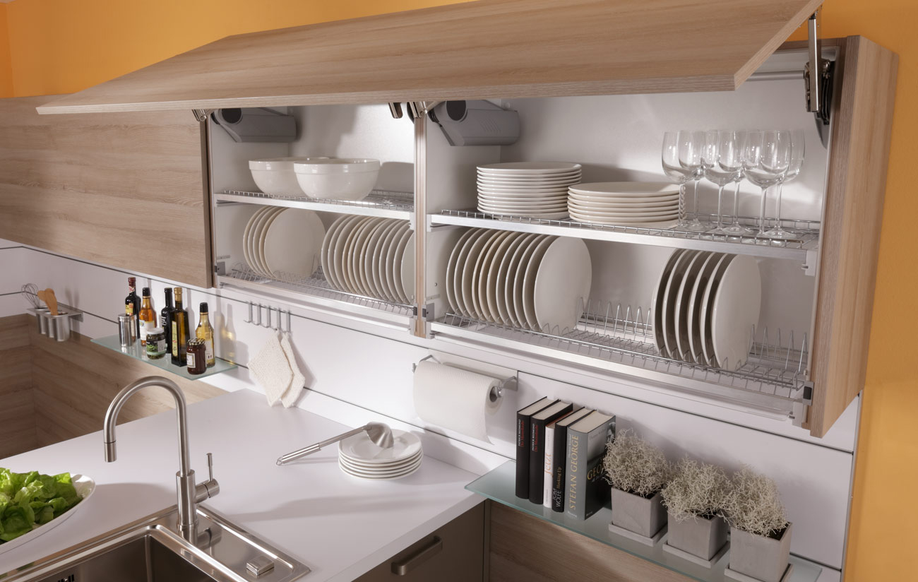 Размещение посуды