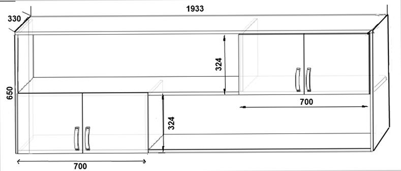 Шкаф для спальни с размерами