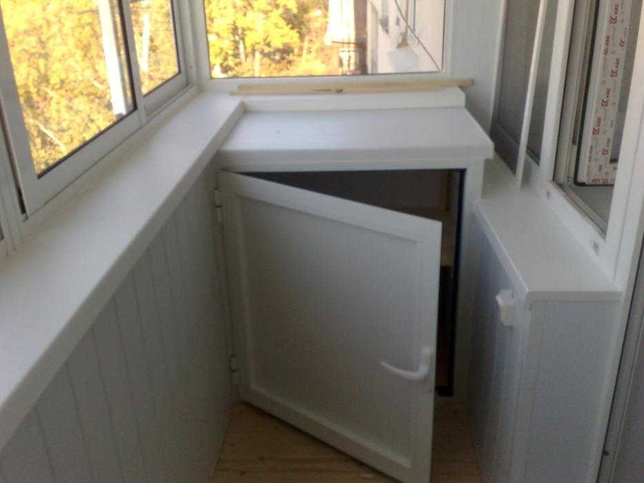 Шкаф до подоконника