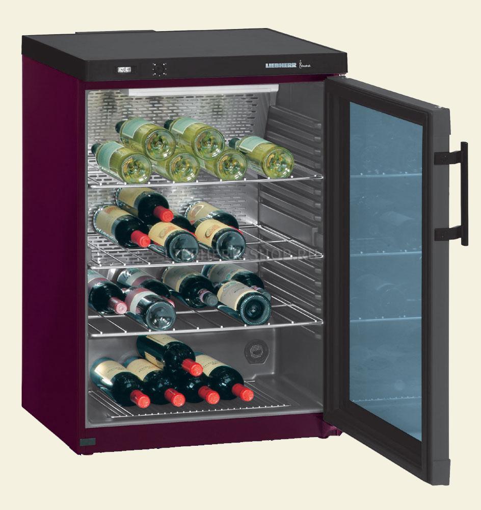 Шкаф холодильник для вина