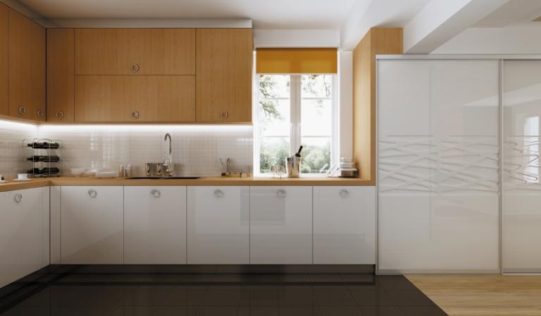 Шкаф купе для кухни дизайн