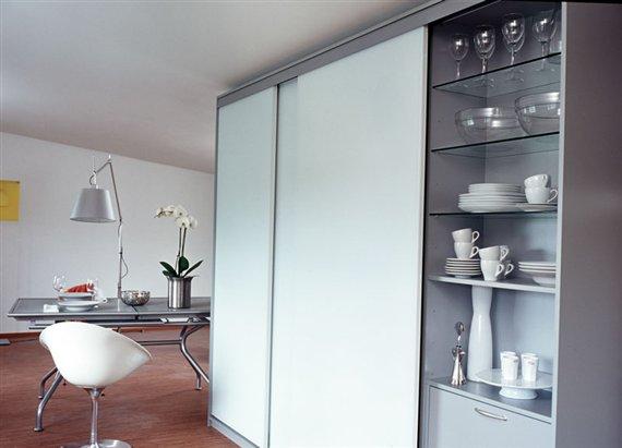 Шкаф купе для посуды
