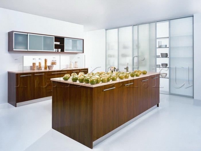 Шкаф купе в дизайне кухни