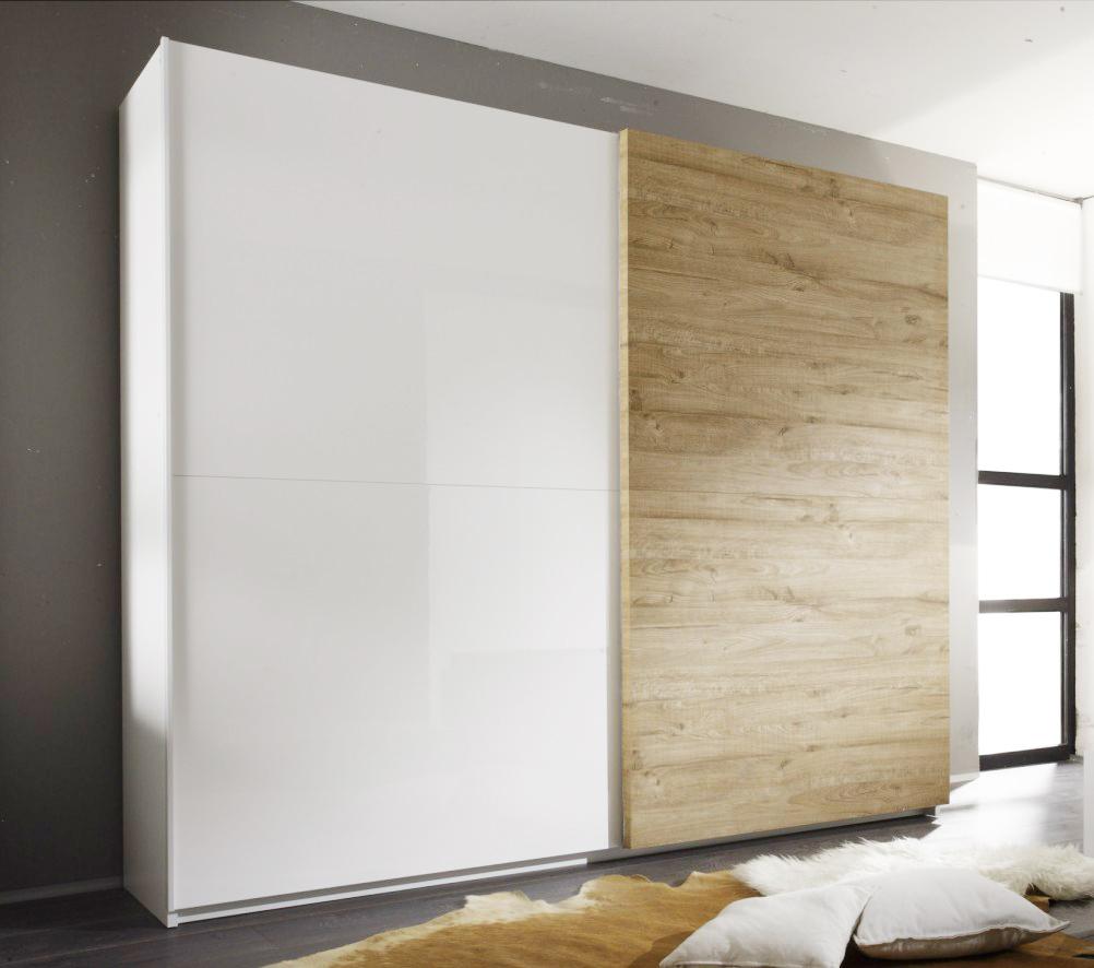 Шкаф-купе в гостиную c широкими дверьми