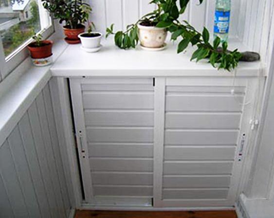 Шкаф с дверцами купе