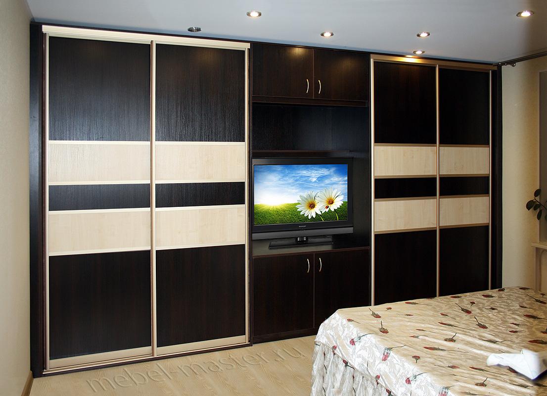 Шкаф с секцией под телевизор