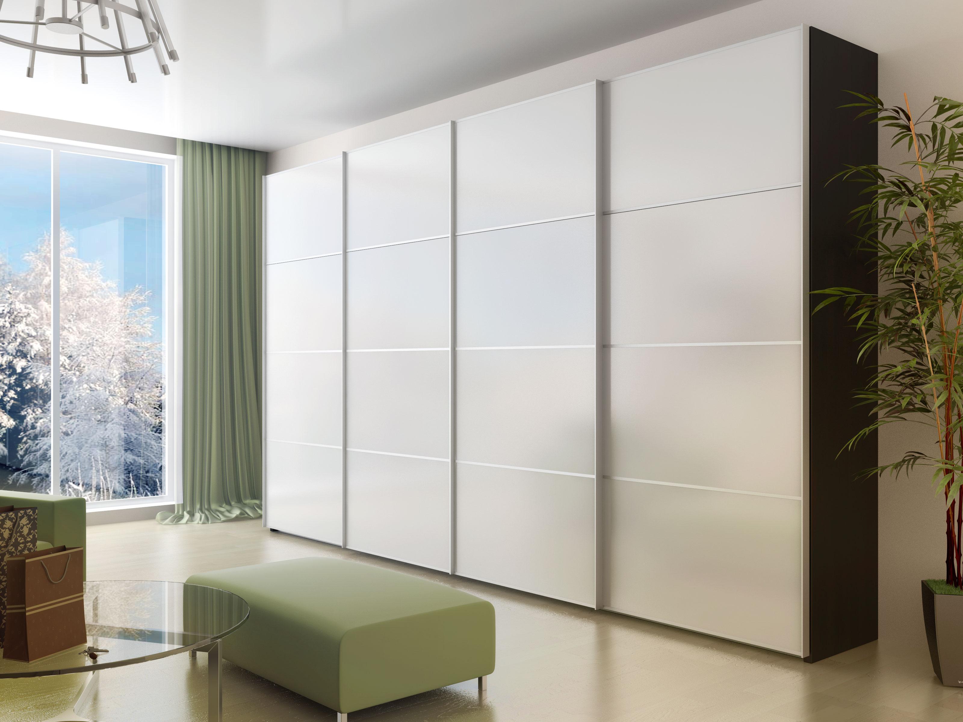 Шкаф со светлым фасадом