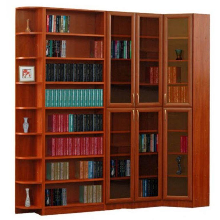 """Библиотека талисман """" книжные шкафы от производителя."""