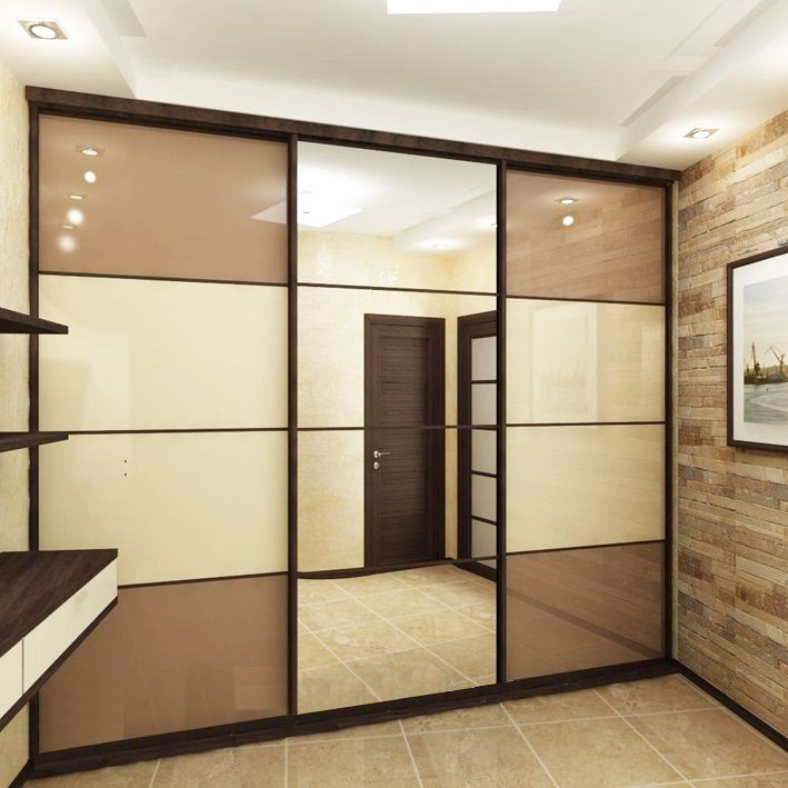 Шкафы в коридоре дизайн