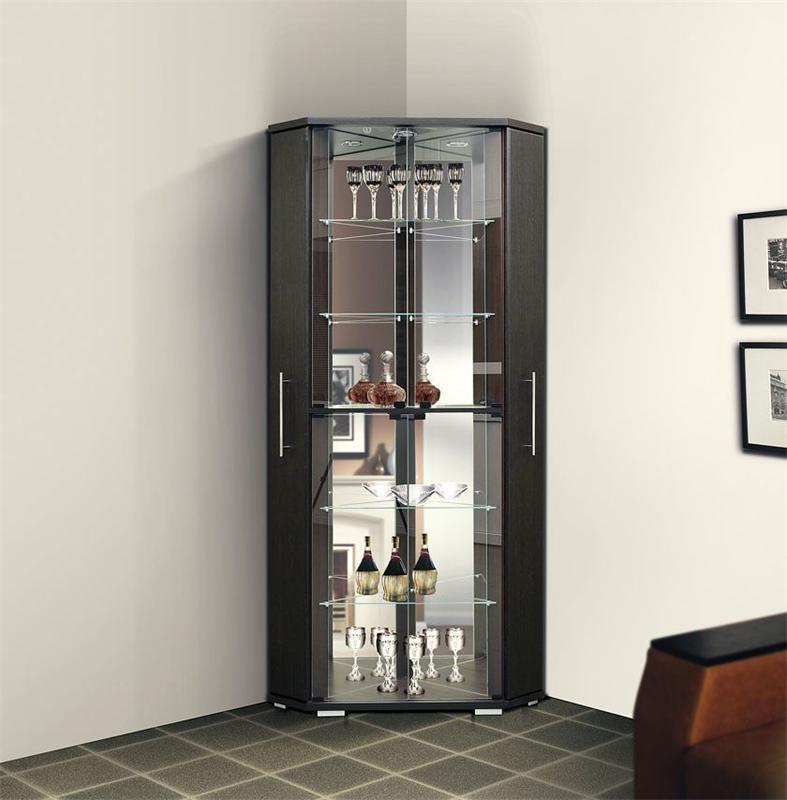 Шкафы витрины со стеклом