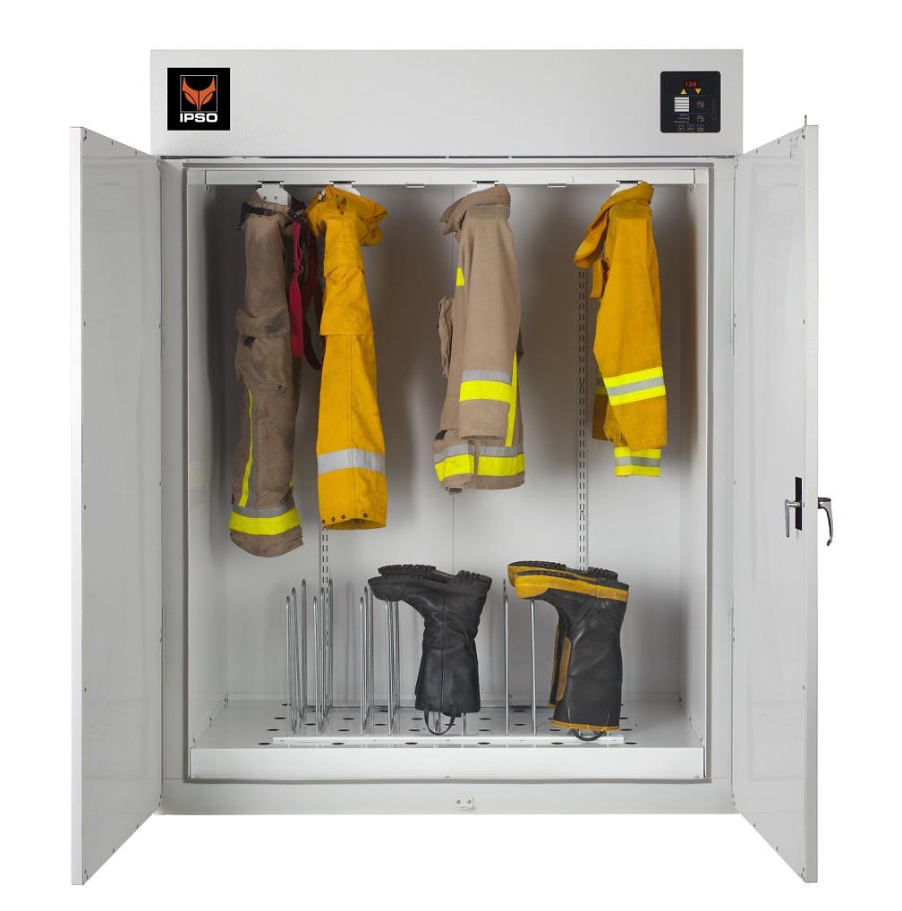 Сушильный шкаф для обсушки вещей на производстве