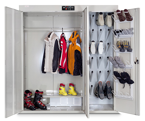 Сушильный шкаф для пяти комплектов