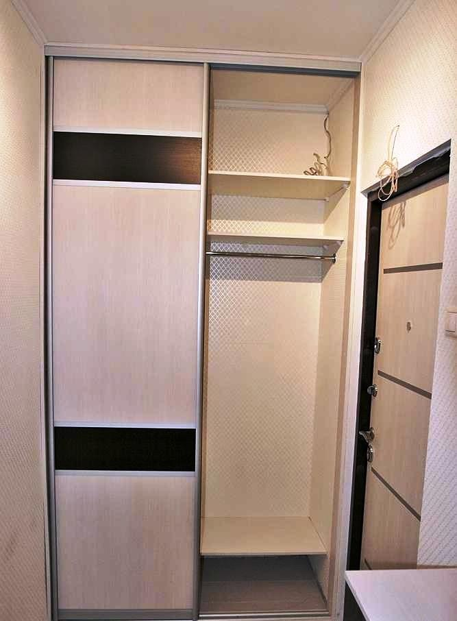 Встроенный шкаф купе в прихожую и фото существующих варианто.