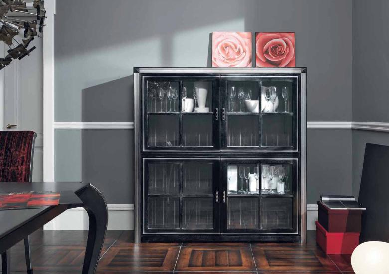 Темная мебель в гостиную