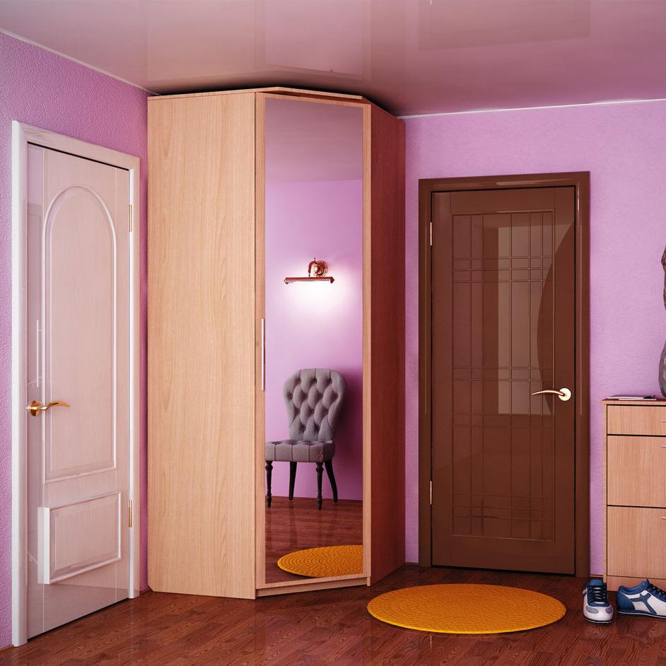 Угловой шкаф в коридор, параметры и основы грамотного выбора.