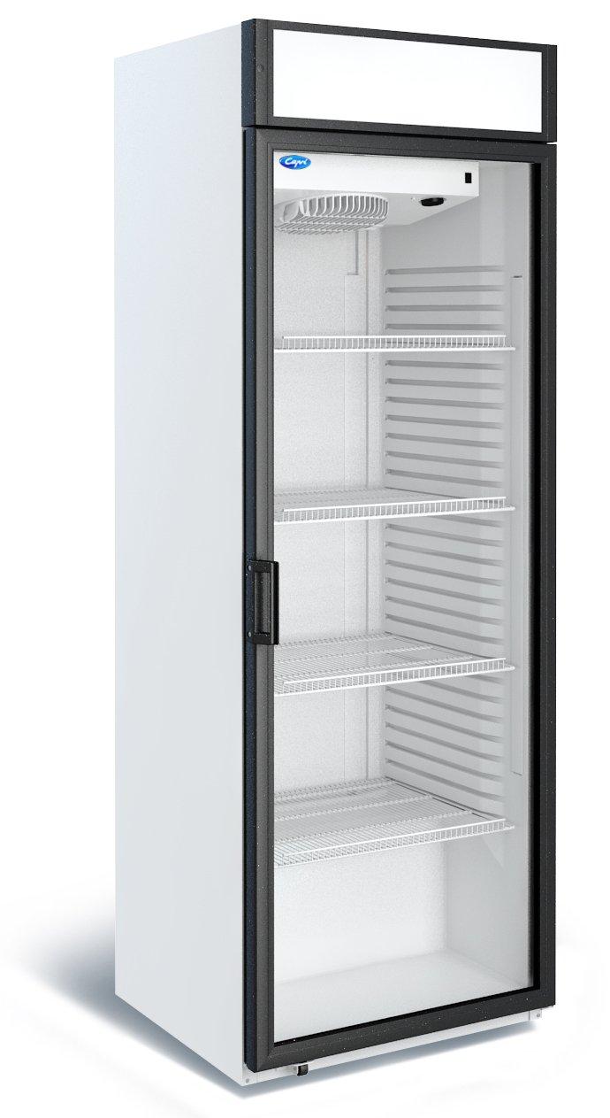 Узкий холодильный шкаф