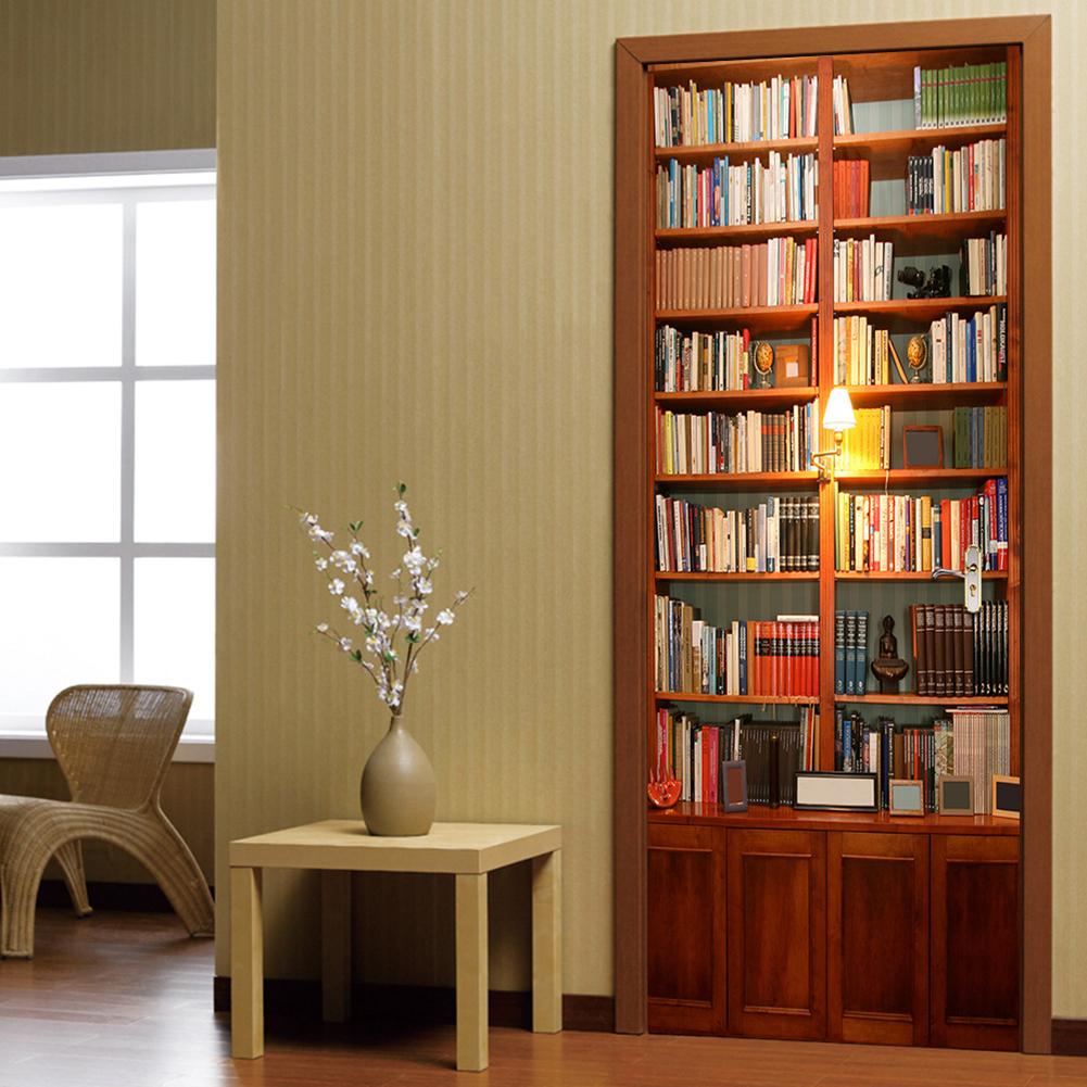 Узкий книжный шкаф