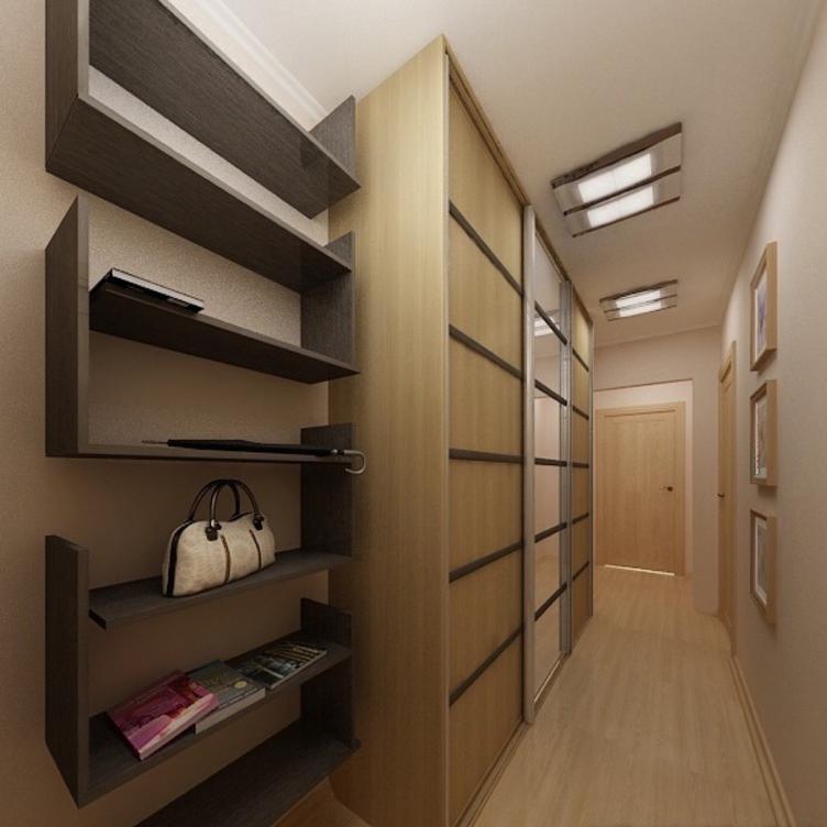 какой шкаф подойдет в узкий коридор фото спрашивали жителей
