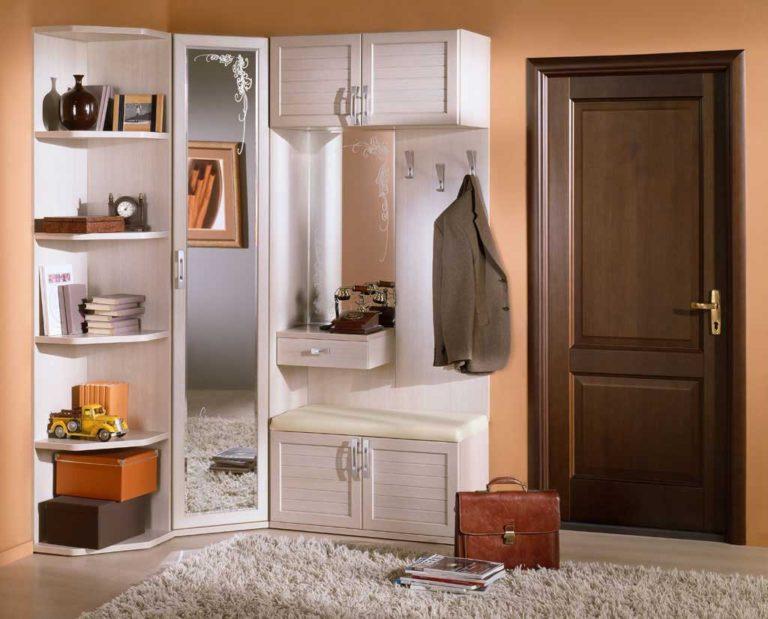 Угловой шкаф в прихожую, фото подборка с комментариями и опи.