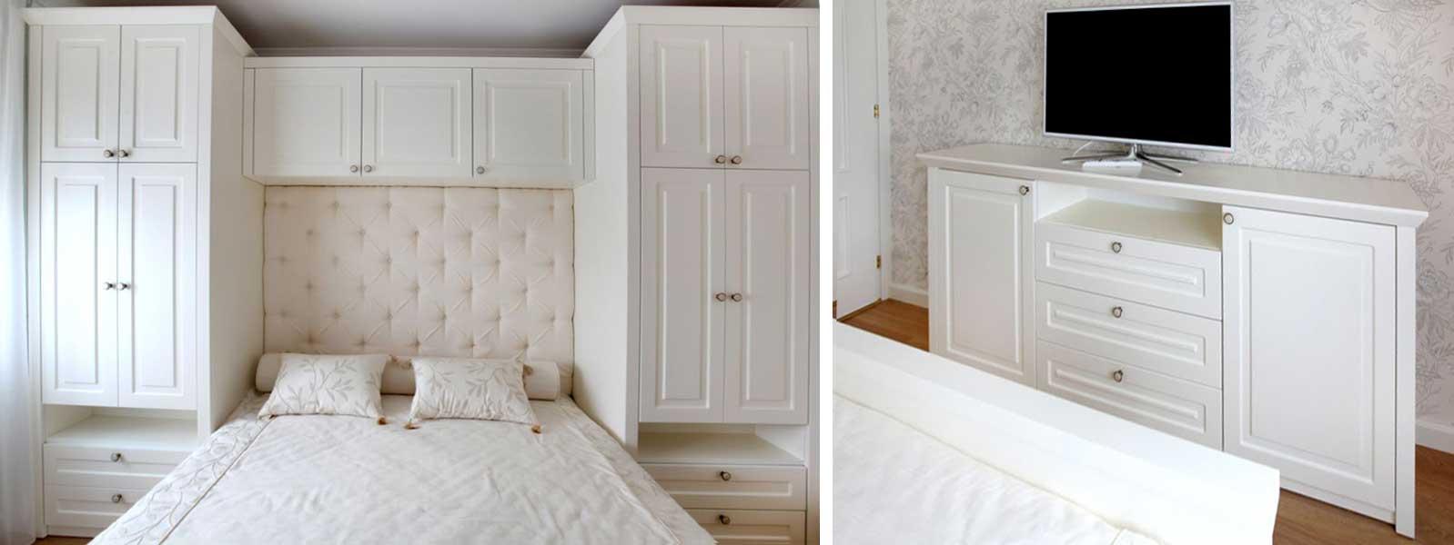 Виды шкафов в спальню