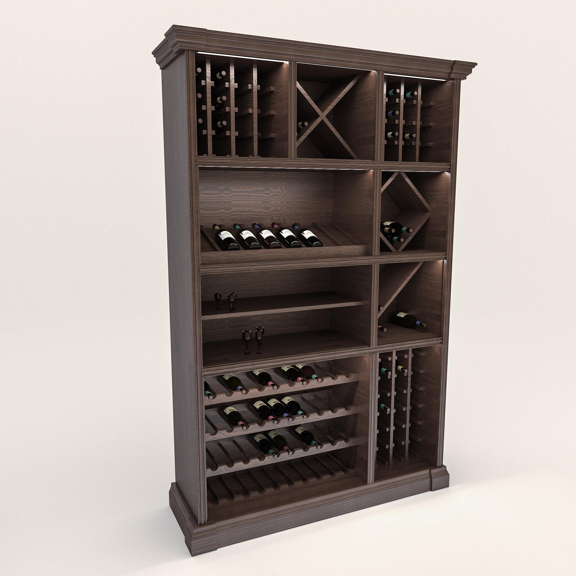 Винный шкаф (для хранения вина)