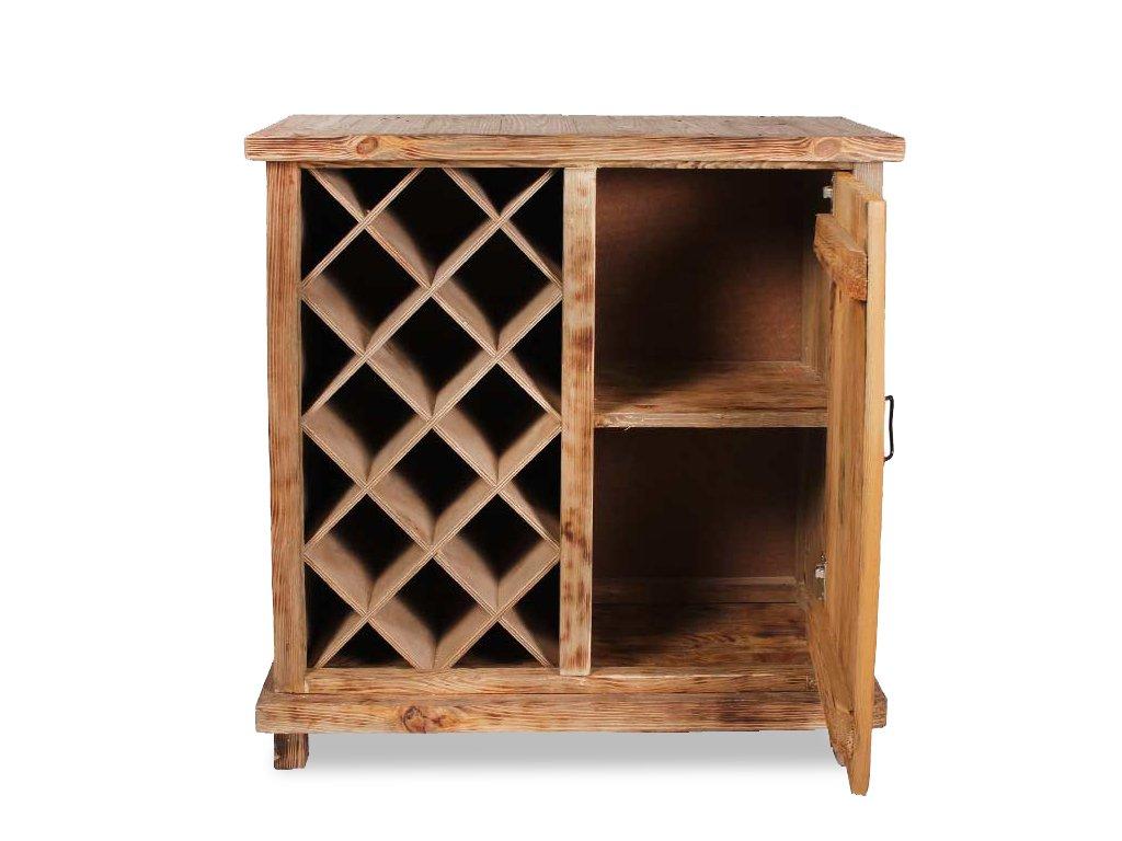 Винный шкаф из дерева