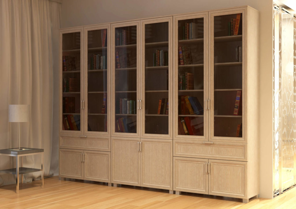 Книжный шкаф узкий представлен в разных версиях, их плюсы и .