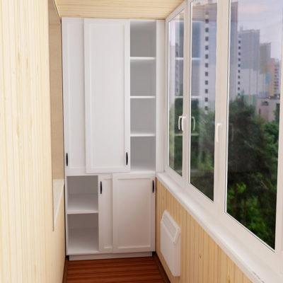 Встроенная мебель для балкона и лоджии