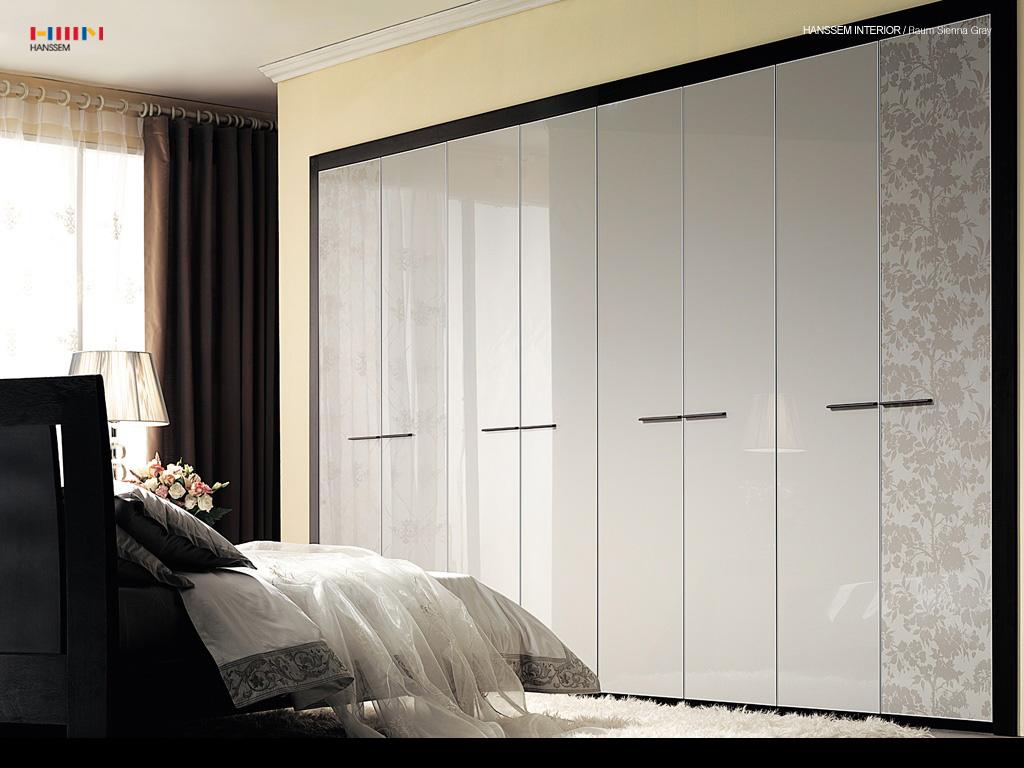 Встроенная модель шкафа