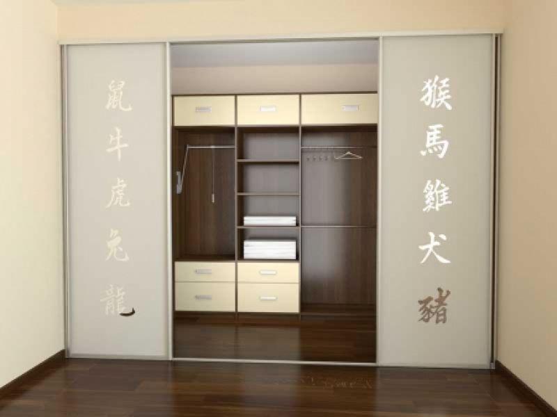 Встроенный шкаф в типовой квартире