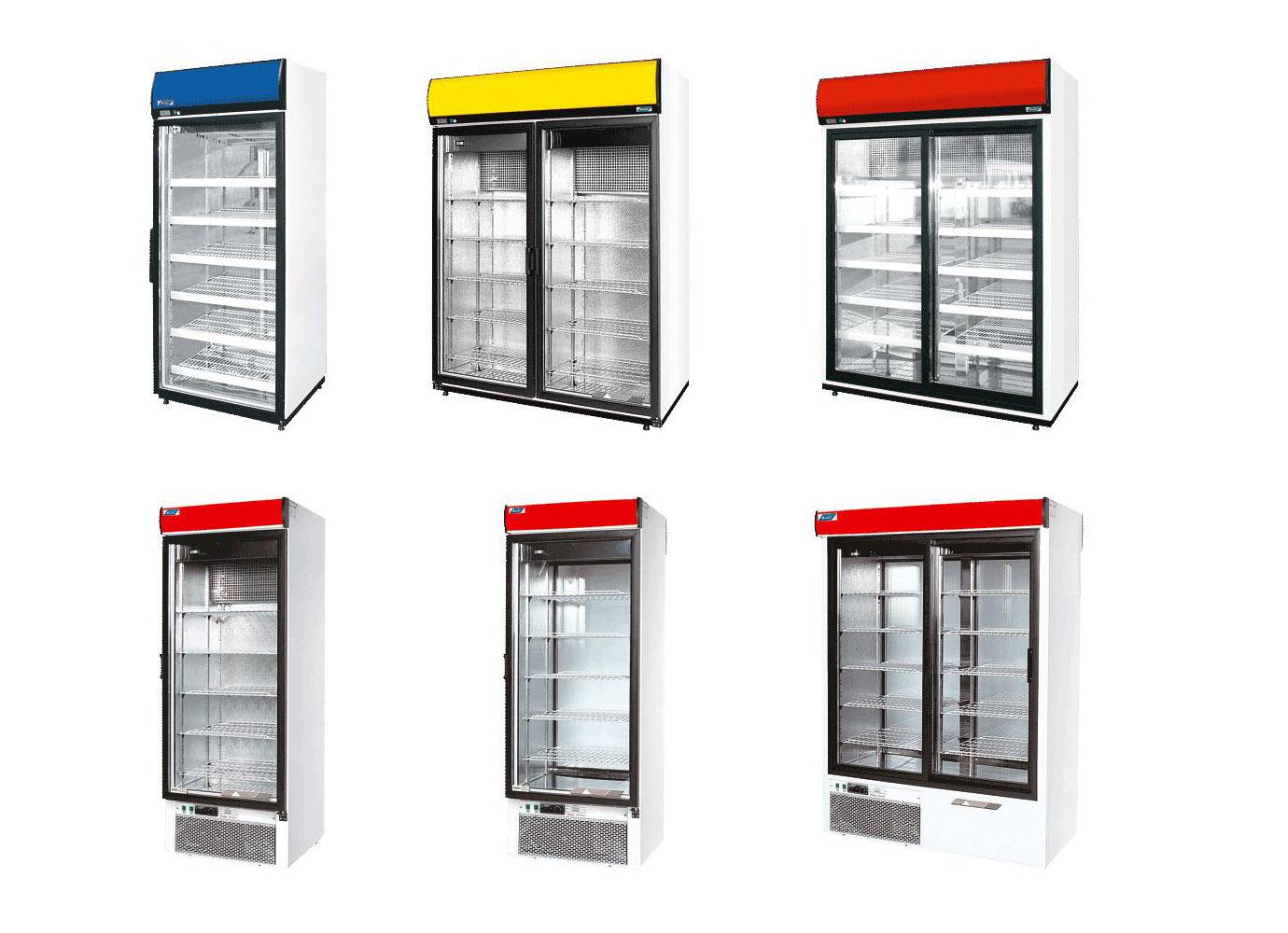 Выбор цвета холодильного шкафа
