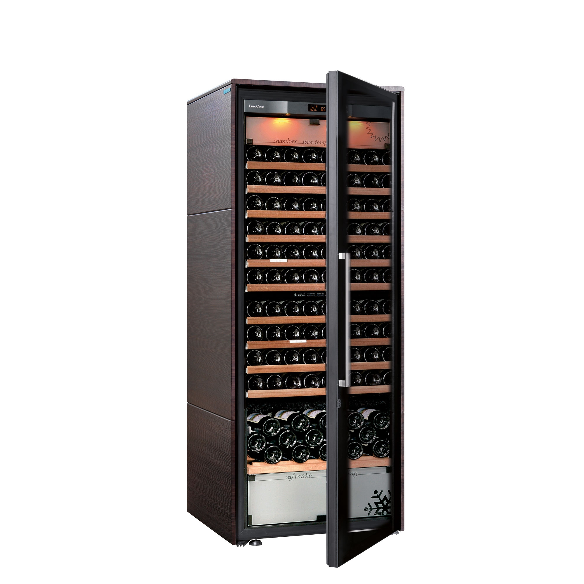 Высокий шкаф для вина