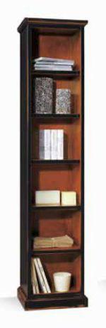 Высокий узкий книжный шкаф