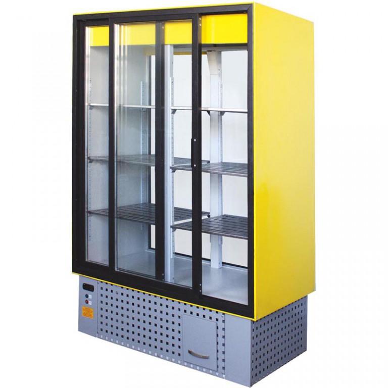 Яркий холодильный шкаф