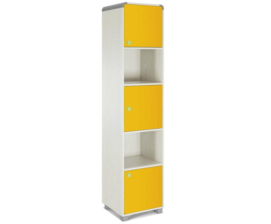 Яркий шкаф пенал