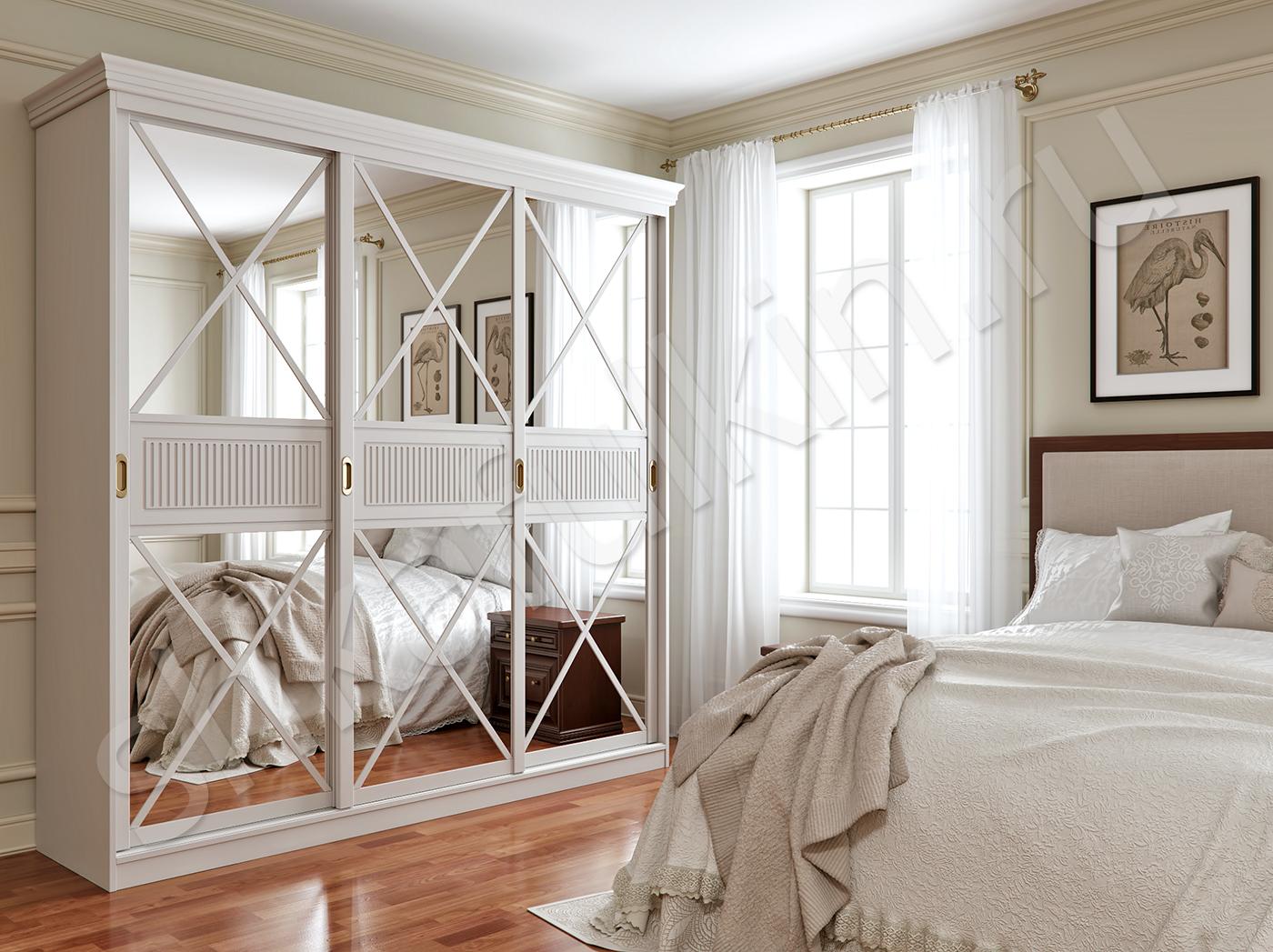 белый шкаф в спальню самые красивые варианты и их особенности