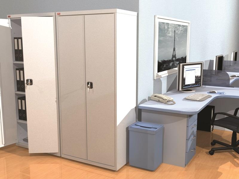 Архивный шкаф в офисе