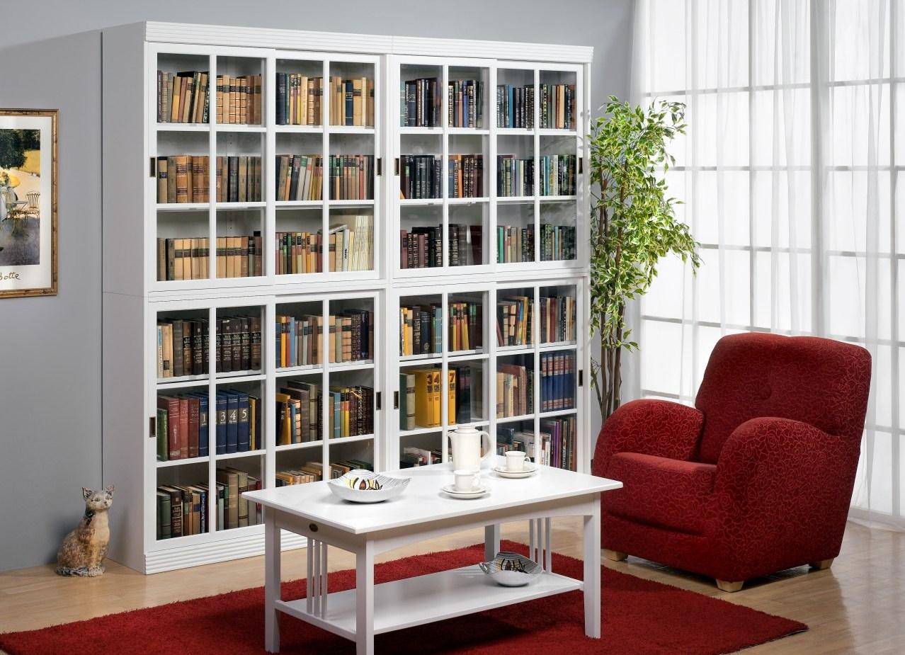 Белый шкаф, особенности цвета и как вписать такую мебель в и.