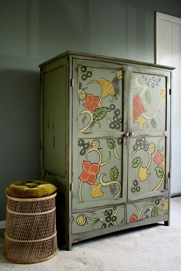 Дайте своему старому шкафу