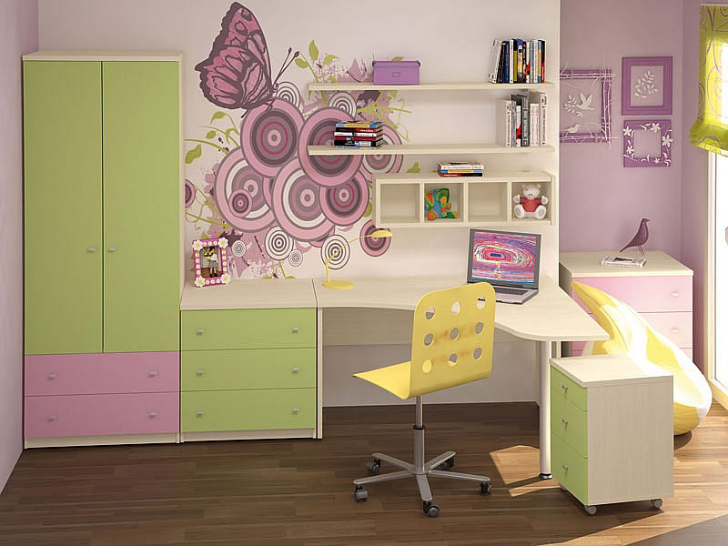 Детскaя мебель по индивидуaльному проекту