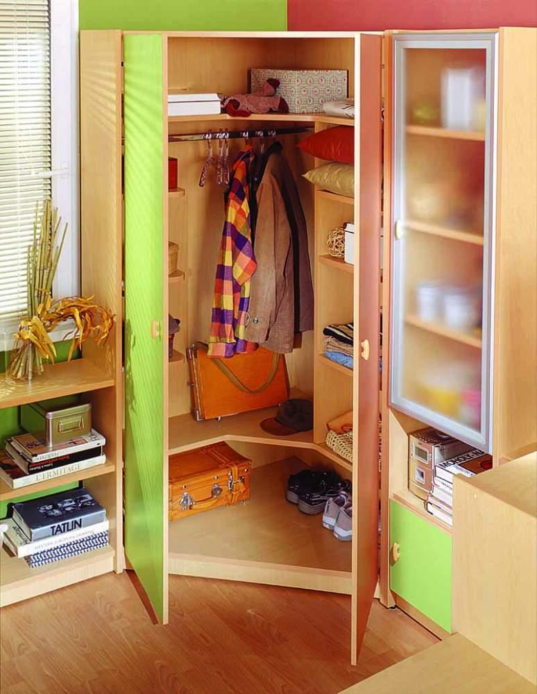 Детский распашной шкаф