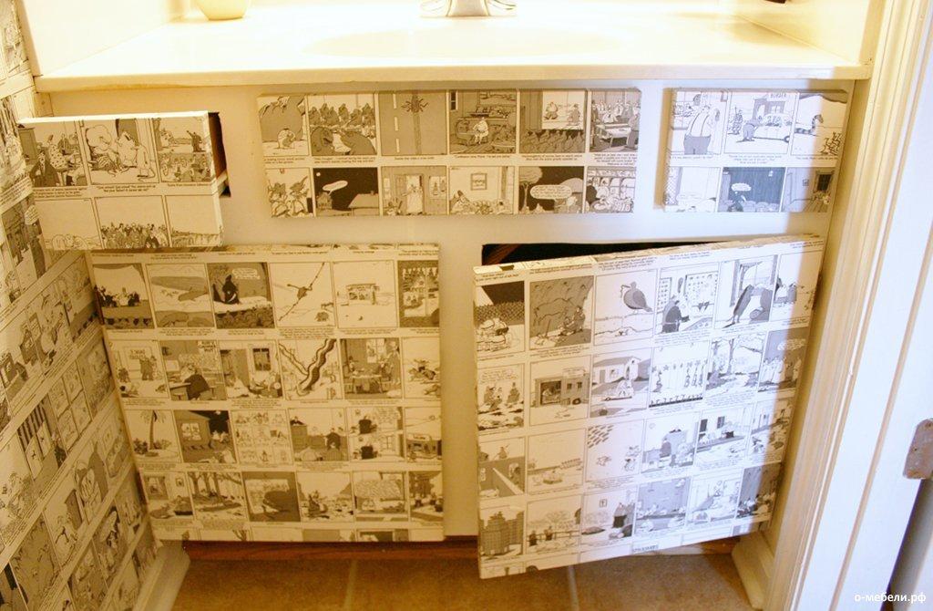 Дизайн мебельных элементов
