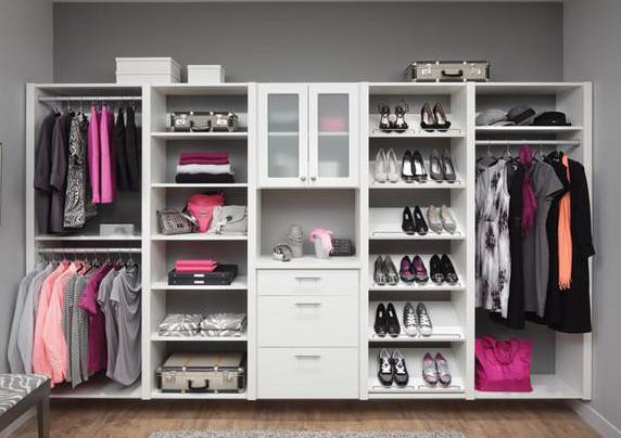 Где какую одежду разместить